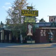 (West Yellowstone, MT) Scooter's 667th bar, first visited in 2009. The pizza may not be anything spectacular pretty standard. (I'm not a fan of any pizza that hides onions in...