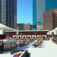 (Downtown, Kansas City, MO) Scooter's 658th bar, first visited in 2009. Seasonal rooftop pool & bar on the roof of the downtown Cosentino's grocery store. There is a swim-up bar...