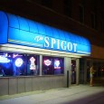 "(Downtown, Lincoln, NE) Scooter's 577th bar, first visited in 2009. There were a couple of college kids loitering outside. """"I don't want any trouble!"""" B informed them as we stepped..."
