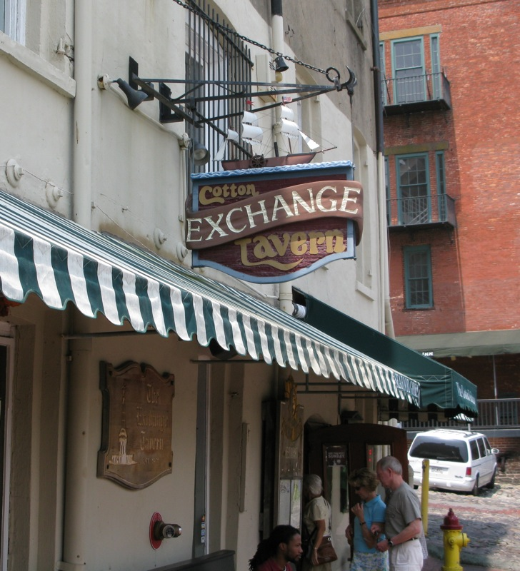 Cotton Exchange Tavern, Savannah