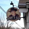 (Leavenworth, KS) Scooter's 976th bar, first visited in 2013. We almost didn't stop here because it looked so much like someone's house, but the small sign on the east side...