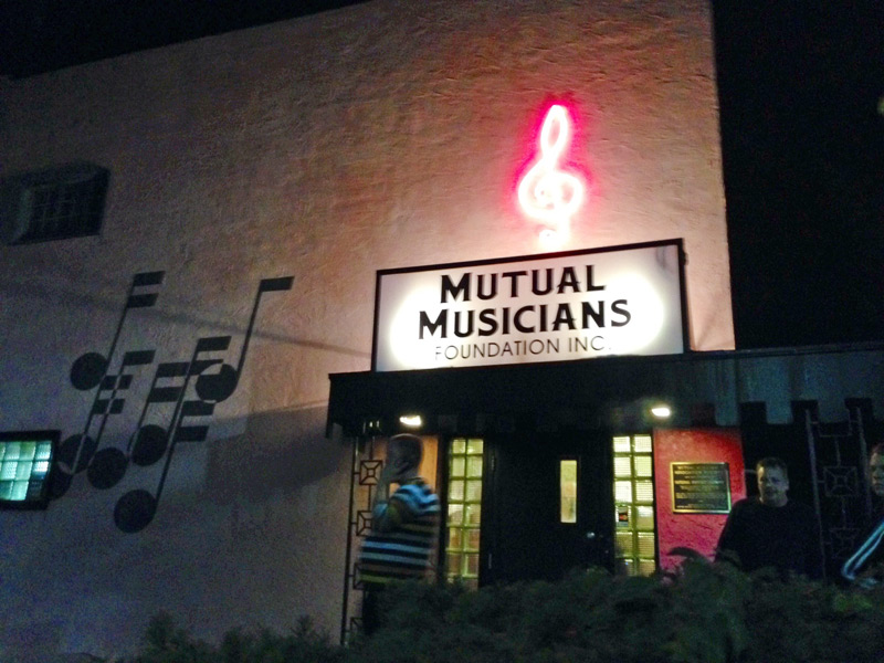 Mutual Musicians Foundation, Kansas City