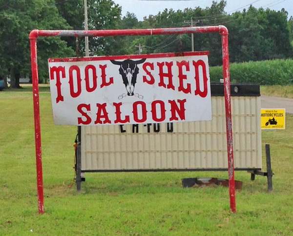 Tool Shed Saloon, Puxico