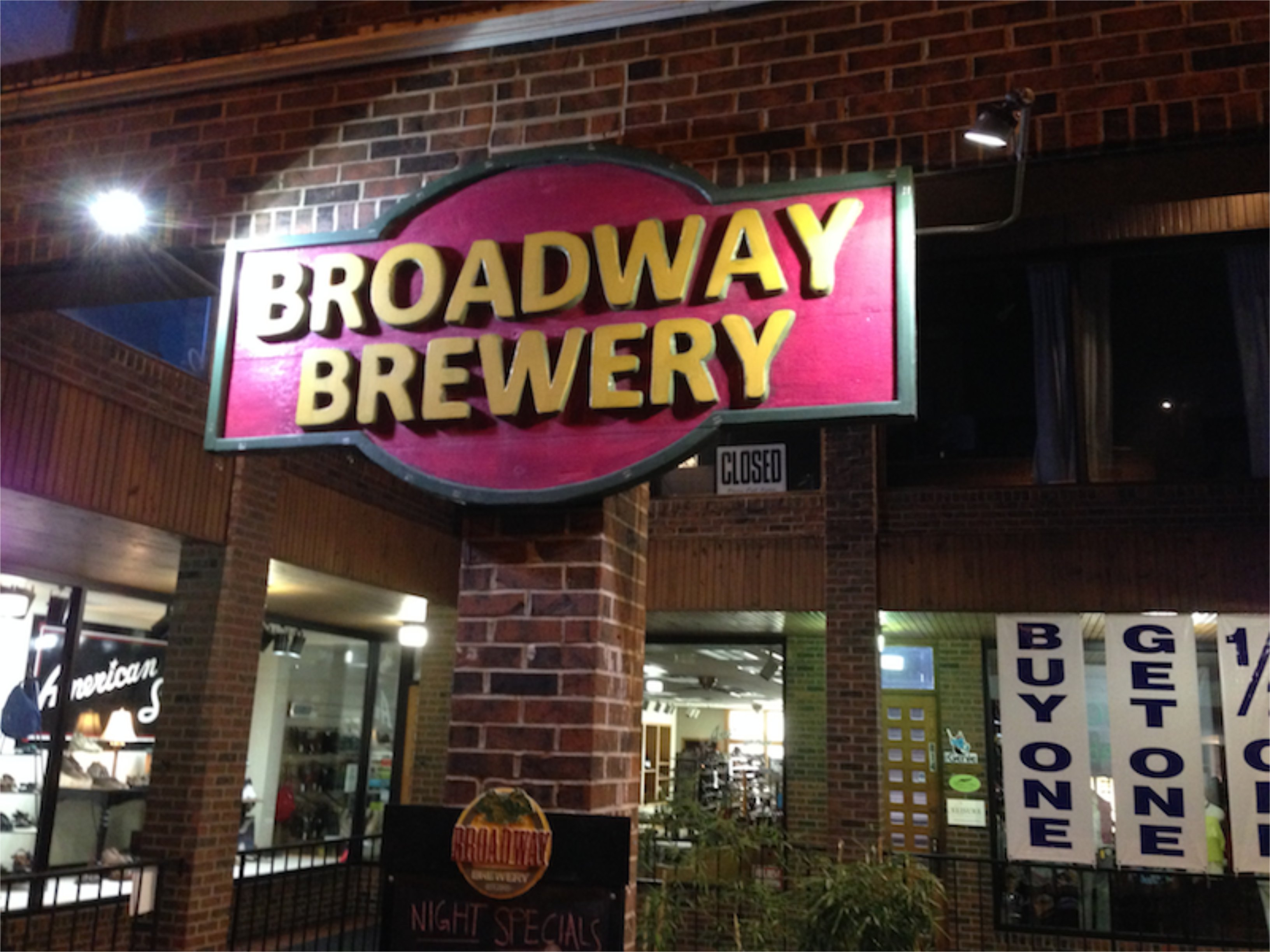 Broadway Brewery, Columbia