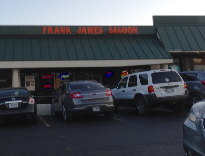 Frank James Saloon, Parkville