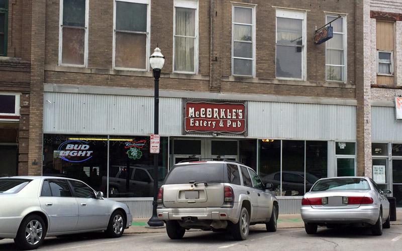 McCorkle's Eatery & Pub, Cameron