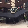 (Downtown, Minneapolis, MN) 44.972875, -93.247651 Scooter's 1143rd bar, first visited in 2016. Spacious sorts bar with an attached comedy club. Large rectangular central bar island. I had the Bent Paddle...