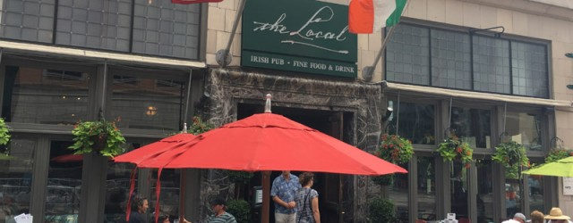 (Downtown, Minneapolis, MN) Scooter's 1148th bar, first visited in 2016. Beautiful and large Irish pub in the heart of downtown with a big sidewalk seating area. I was disappointed to...