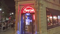 (Madison, WI) Scooter's 1160th bar, first visited in 2016. This restaurant is a tiny little two-room wedge directly facing the capitol building. There's a small sidewalk seating area demarcated by...