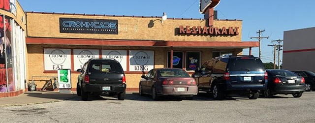 (Antioch/Vivion, Kansas City, MO) Scooter's 1186th bar, first visited in 2017. Restaurant/Bar with rotating craft beer selection. Downstairs, the former Marcy's Lounge is now a game room named Crowncade. 2631...