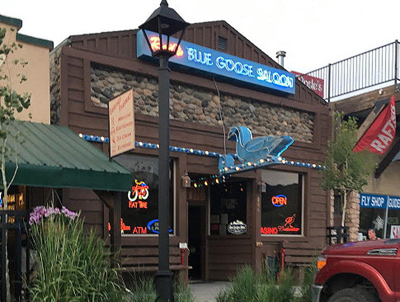 Red's Blue Goose Saloon, Gardiner