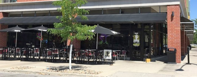 (Downtown, Des Moines, IA) Scooter's 1203rd bar, first visited in 2017. Popped in here for a hangover lunch / some hair of the dog. Zombie themed burger bar. When we...