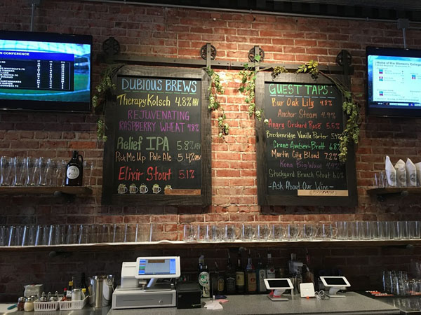 Dubious Claims Brewing Company, Excelsior Springs