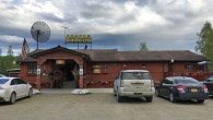 (Fox, AK) Scooter's 1242nd bar, first visited in 2018. I had sat down planning to order something more sensible to eat, but my wife insisted that I can't come 3,500...