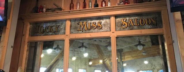 (Denali Park Village, Denali National Park and Preserve, AK) Scooter's 1246th bar, first visited in 2018. A small bar located in the back of the main lodge at Denali Park...