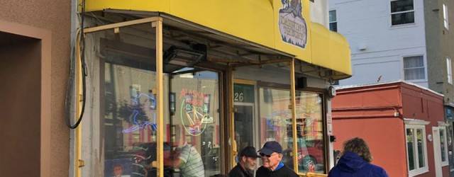 (Downtown, Anchorage, AK) Scooter's 1255th bar, first visited in 2018. This place came highly recommended as far as dive bars go, but we didn't get a good chance to get...