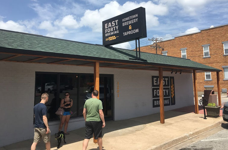 East Forty Brewing, Blue Springs
