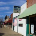 (Downtown, Blue Springs, MO) Scooter's 396th bar, first visited in 2007. The Gridiron is the end point for one of the world's shortest St. Patrick's Day Parades, an annual tradition...