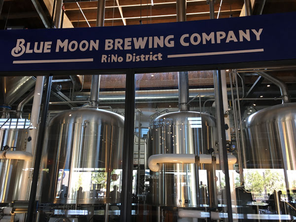 Blue Moon Brewing Company at RiNo District, Denver