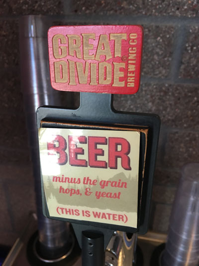 Great Divide Barrel Bar, Denver