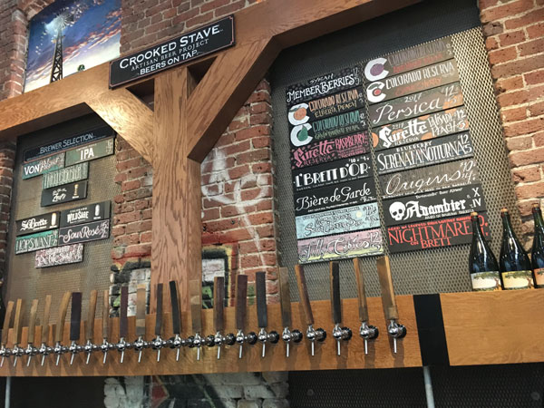 Crooked Stave Taproom at The Source, Denver