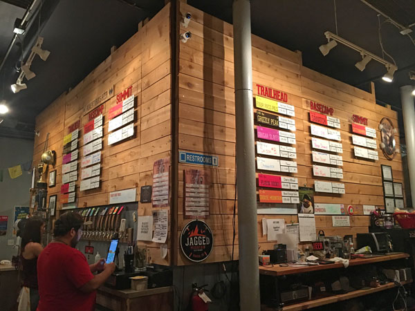 Jagged Mountain Craft Brewery, Denver