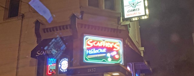 (Lower East Side, Milwaukee, WI) Scooter's 1317th bar, first visited in 2019. At the other end of the block from Fink's was arrived at the bar we were originally heading...