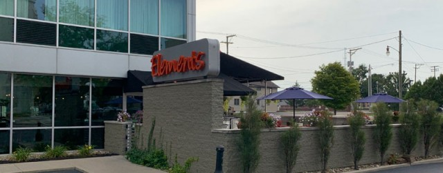 (Downtown Square, Newark, OH) Scooter's 1362nd bar, first visited in 2019. This is the hotel bar for the Doubletree in downtown Newark, though it has a separate entrace so it's...