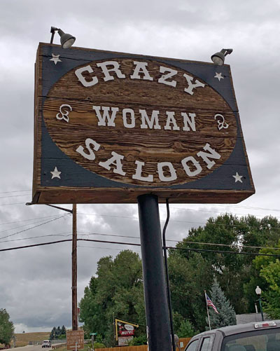 Crazy Woman Saloon, Dayton