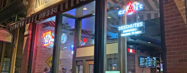 "(Downtown, Rapid City, SD) Scooter's 1380th bar, first visited in 2019. ""Wait, you picked this place for the beer, not the food!"" my wife said, angrily, when we stepped inside...."