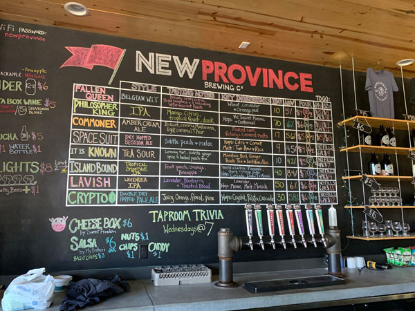 New Province Brewing Company, Rogers