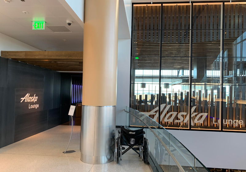 Alaska Airlines North Satellite Lounge, Seattle
