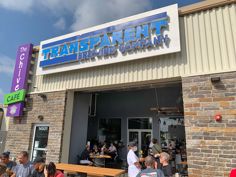 Transparent Brewing Company, Grandview