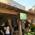 (Iron District, North Kansas City, MO) Scooter's 1445th bar, first visited in 2020. A cocktail-focused, outdoor-only tiki bar located in a shipping container shopping/easting district. 1599 N Iron St North...