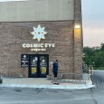 (East Park Plaza, Lincoln, NE) Scooter's 1465th bar, first visited in 2021. Massive horror-themed brewery taproom in a former laser tag space. The cavernous main taproom is filled with picnic...