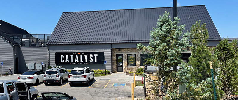 Catalyst - Kitchen, Taproom, Patio, & Brewing Co., Lincoln